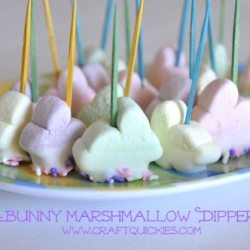 Bunny Marshmallow Dippers