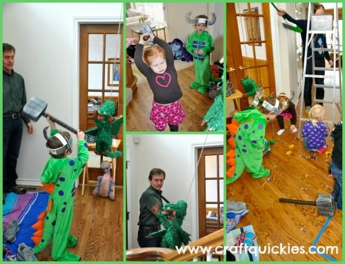 Fun, easy and cheap How to Train Your Dragon Party ideas from Craft Quickies!