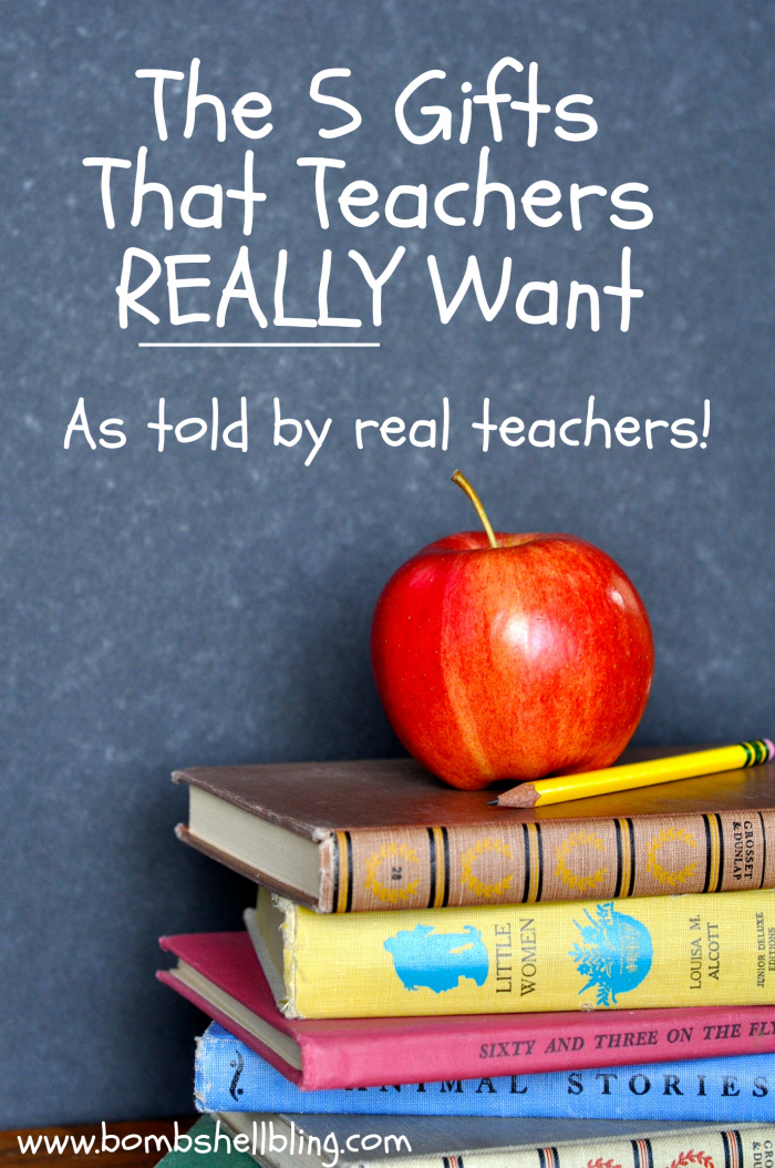 Teacher Gifts The Top 5 Your Child\u0027s Teacher REALLY Wants to Receive