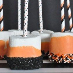 Spooky Halloween Marshmallow Dippers