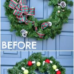 Quick & Simple Wreath Makeover