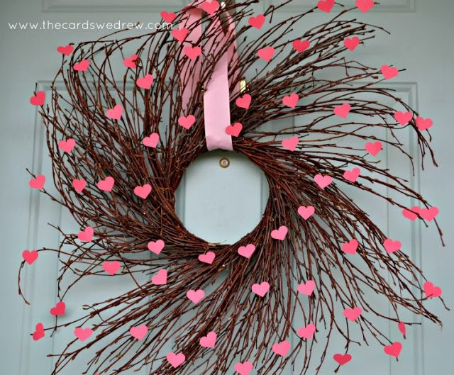 #heart wreath