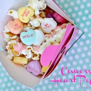 Conversation Heart Popcorn from Bombshell Bling