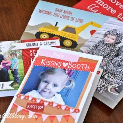 Customized Greeting Cards – #SendMoreLove