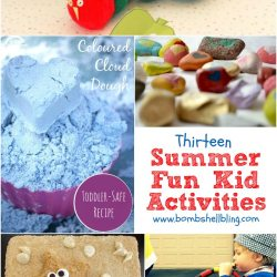 13 Summer Fun Kid Crafts and Activities {Link Party Features}