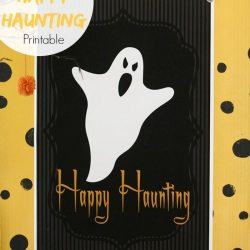 Happy Haunting Halloween Printable