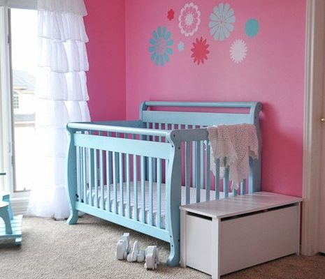 Sweet Baby Girl Nursery Reveal