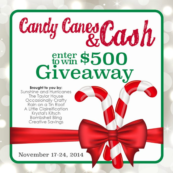 Tribe B Candy Canes and Cash Giveaway Final