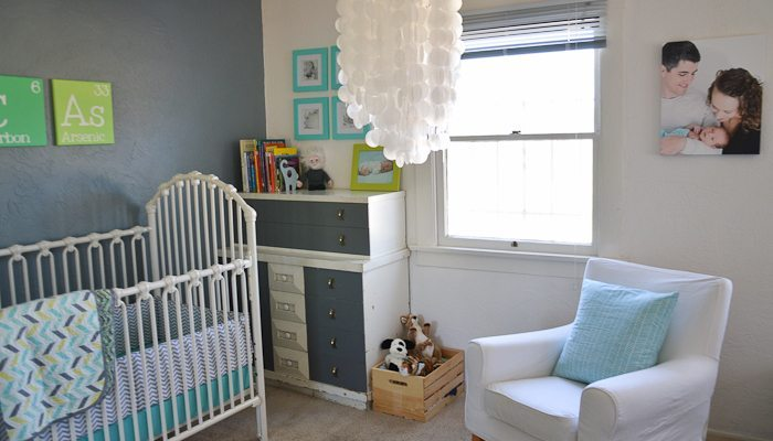 Retro Inspired Nursery