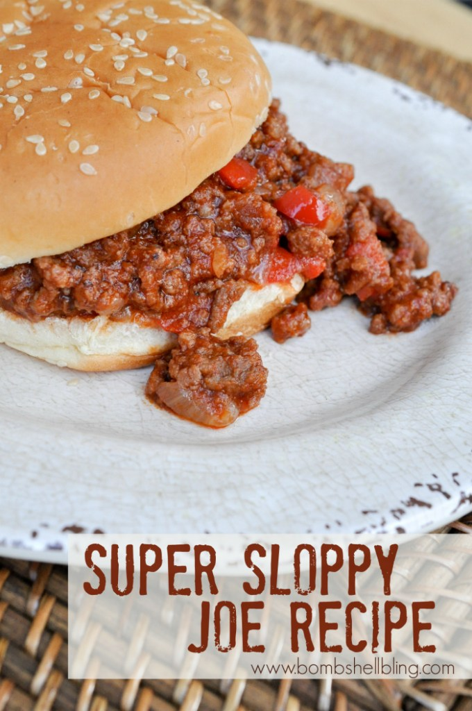 Super Sloppy Joe Recipe
