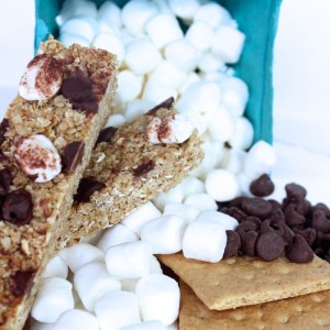 Chewy S'mores Granola Bars