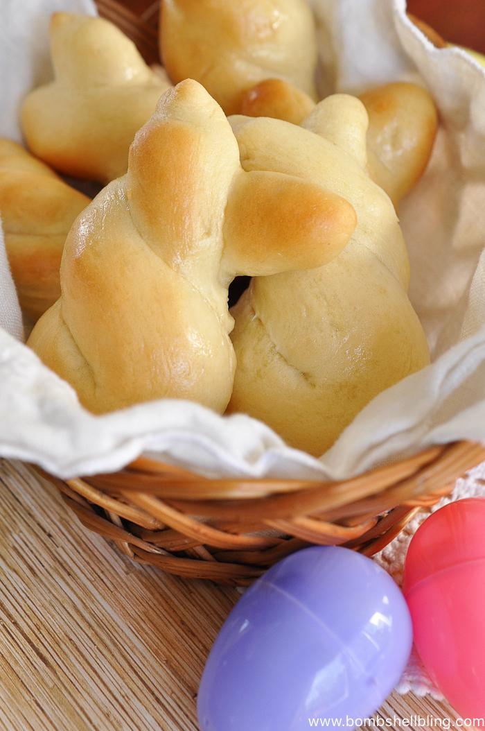 Easter Bunny Dinner Rolls-1