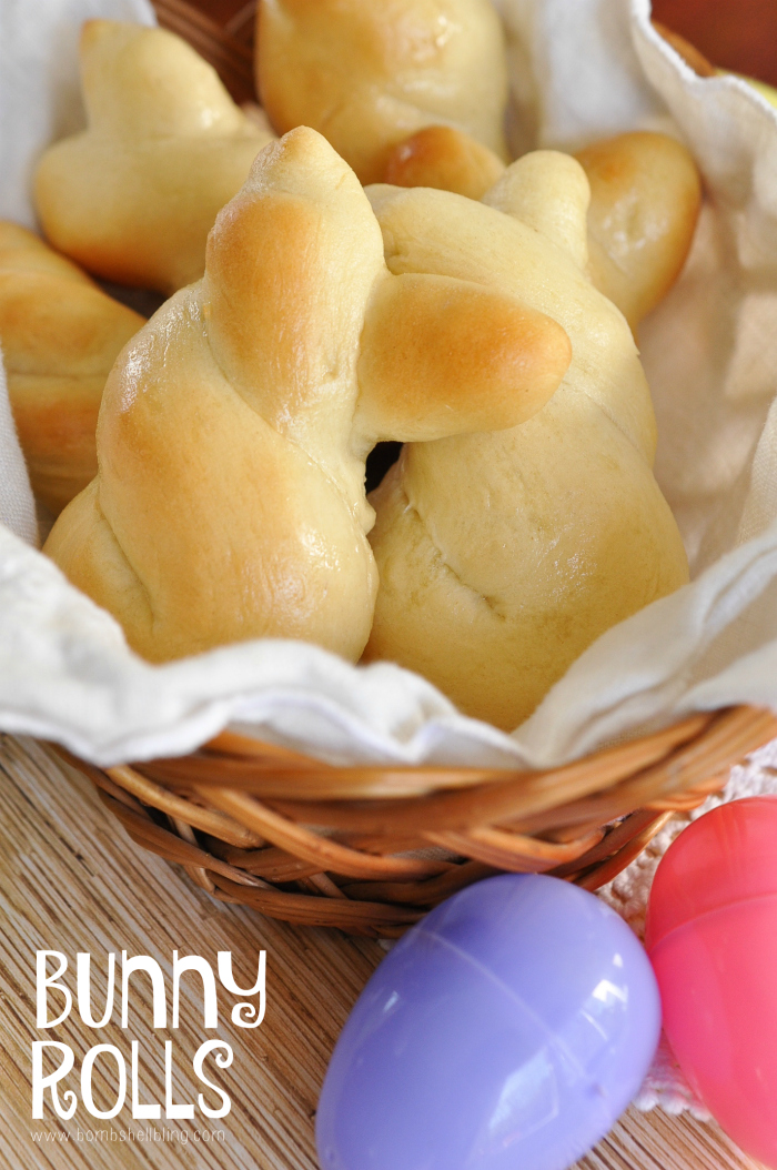 Easter Bunny Rolls Recipe