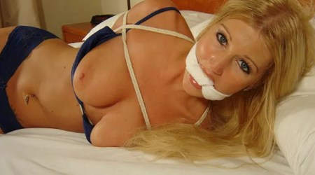 Kinky Housewives tied up for Bedroom Games
