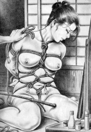 breast bondage photography