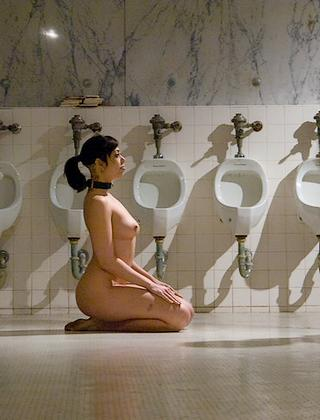 human toilet slave