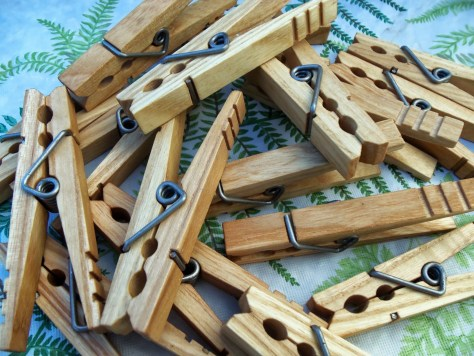 classic american clothespins #1
