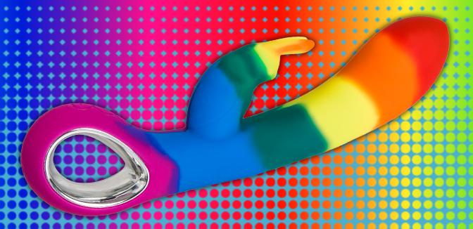 Celebrate Your Sexuality with Bondara's Pride Luxury Rabbit