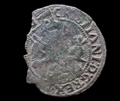 2 skilling 1536, Christian III