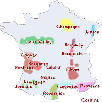 Maps of France - BonjourLaFrance - Helpful Planning, French Adventure
