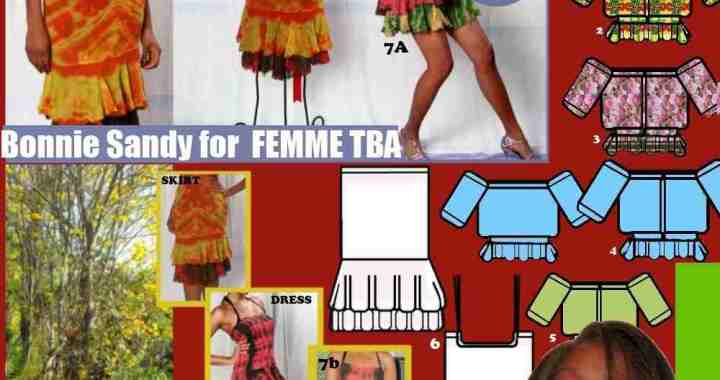 Social Commerce selling The story of this femme tba piece