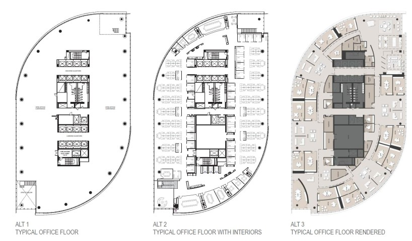 Office Tower Floor Plan Pdf