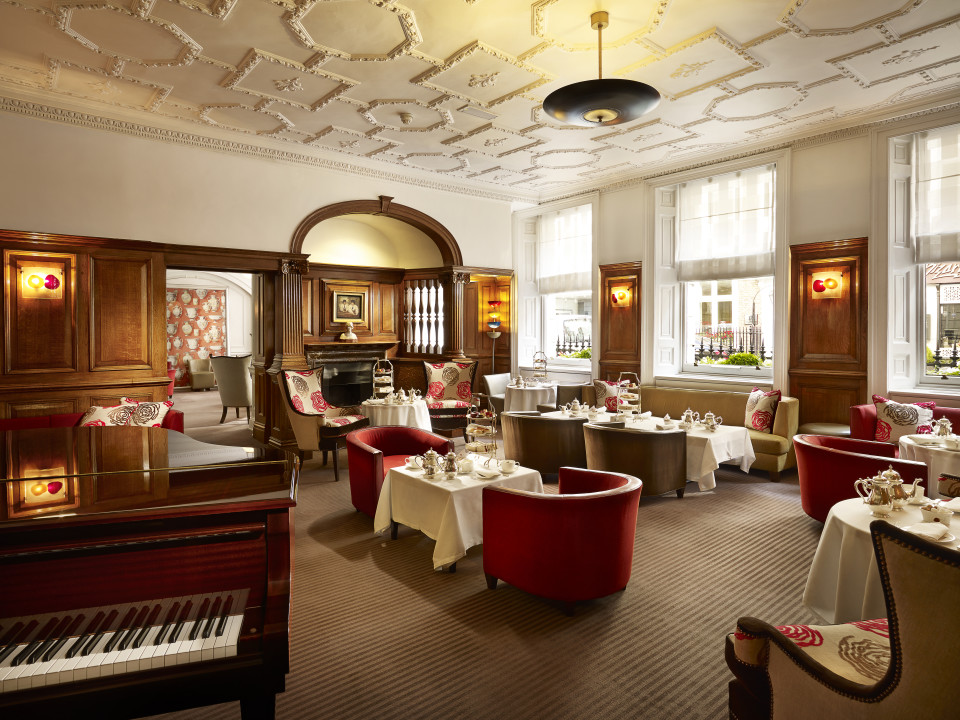 The English Tea Room At Brown S Hotel