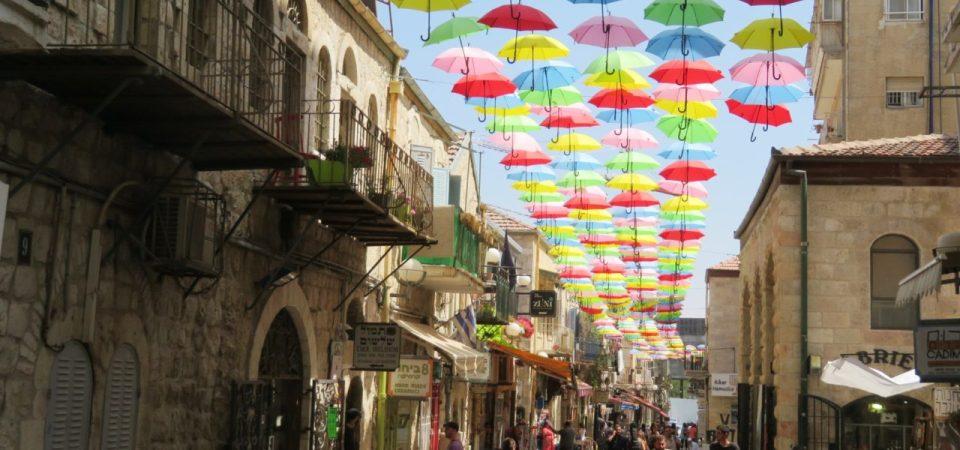 The joys of walking Jerusalem !