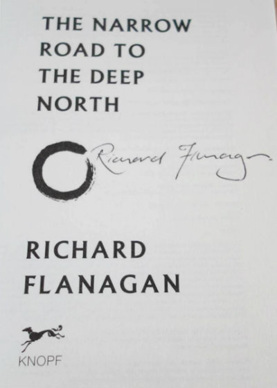 signed-narrow-road-deep-north-flanagan