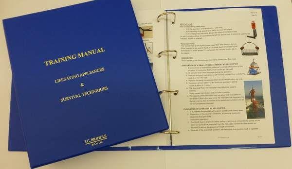 Commercial Publication SOLAS Training Manual \u2013 2nd edition IC