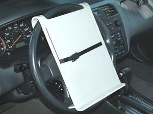 Bookofjoe Steering Wheel Laptop Holder Episode 2 Wheeldesk