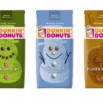 Dunkin Donuts Home Packaged Holiday Flavored Coffees