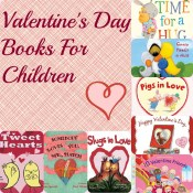 Valentine books collage