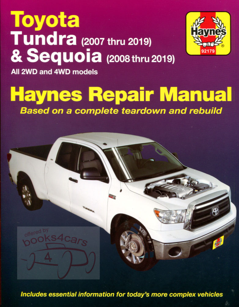 Manual Toyota Auto Electrical Wiring Diagram 2000 Tundra Fuel Filter Free Download Shop Service Repair Sequoia Book