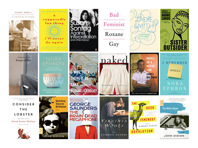 The Best Essay Collections Of All-Time -Book Scrolling