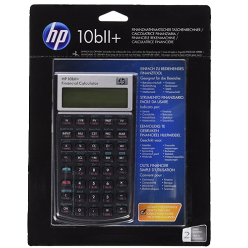 Booksmart - HP 10BII Financial Calculator
