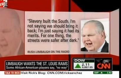 Rush Limbaugh CNN Hoax