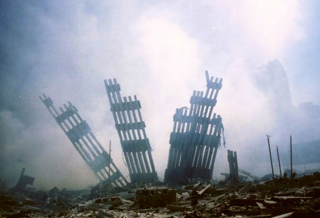 The end of the Twin Towers