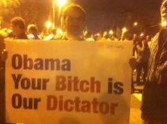 Obama's bitch is Egyptian dictator