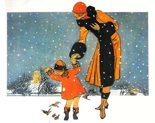 Vintage 1920s Christmas Card