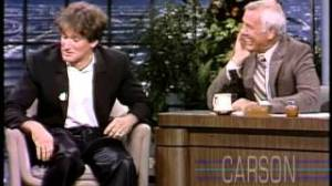 Robin Williams Johnny Carson