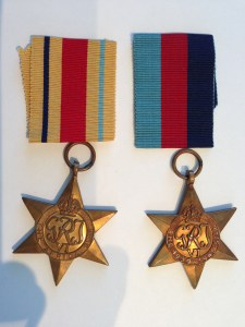 Some of Daddy's service medals