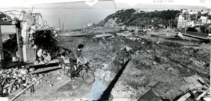 The end of Playland at the Beach