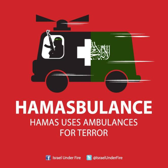 Hamas ambulances