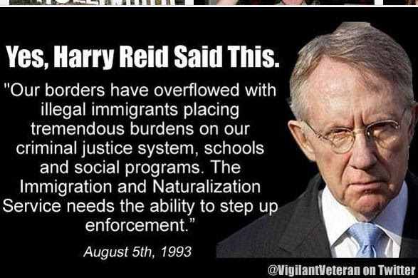 Harry Reid on illegal immigrants