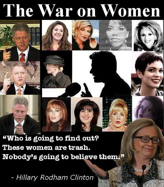 Hillary disses women
