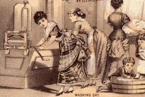 Victorian Washing Day