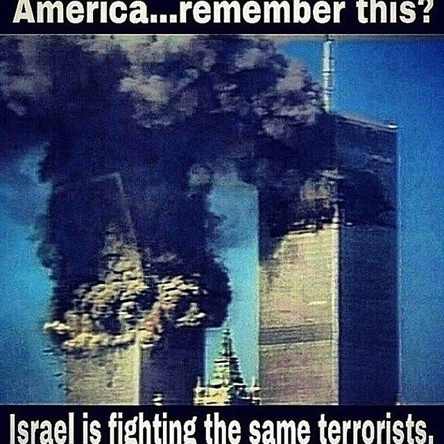 Fighting the same terrorists
