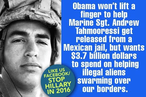 Obama and Tahmooressi