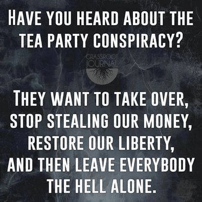 The Tea Party Conspiracy